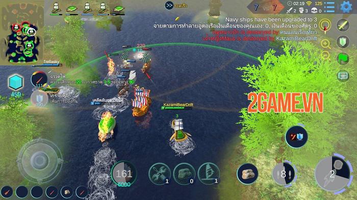 Sea War - Đấu trường MOBA 5vs5 bối cảnh tàu chiến đầy ấn tượng 1