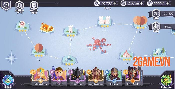 Lords Hooray: Island Rush - Game roguelite chiến thuật thời gian thực đồ họa tươi sáng 0