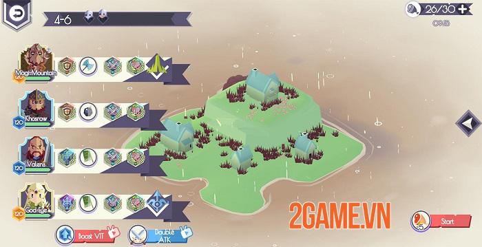 Lords Hooray: Island Rush - Game roguelite chiến thuật thời gian thực đồ họa tươi sáng 4