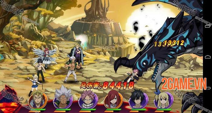 Game manga đánh theo lượt Fairy Tail Mobile đã mở cửa thử nghiệm