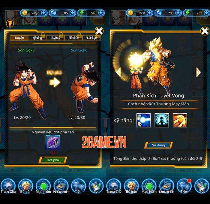 Heroes of Earth - Game thẻ tướng bối cảnh Dragon Ball có hỗ trợ tiếng Việt 2