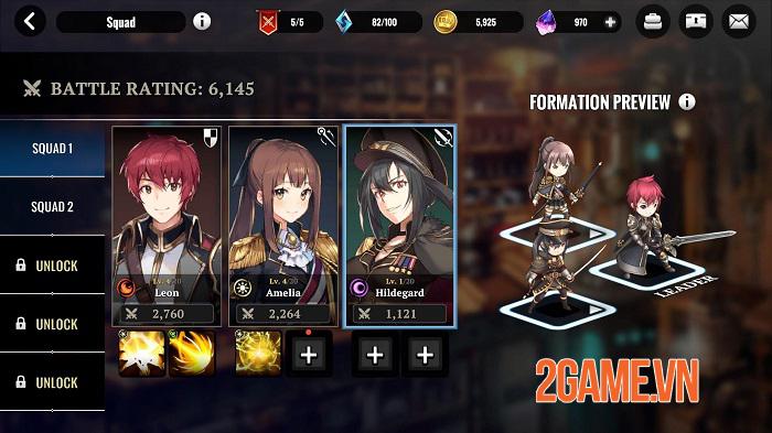 Grand Alliance - Game nhập vai phong cách anime cho tùy biến đội hình đa dạng 1