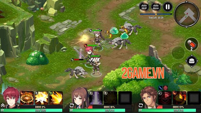Grand Alliance - Game nhập vai phong cách anime cho tùy biến đội hình đa dạng 0