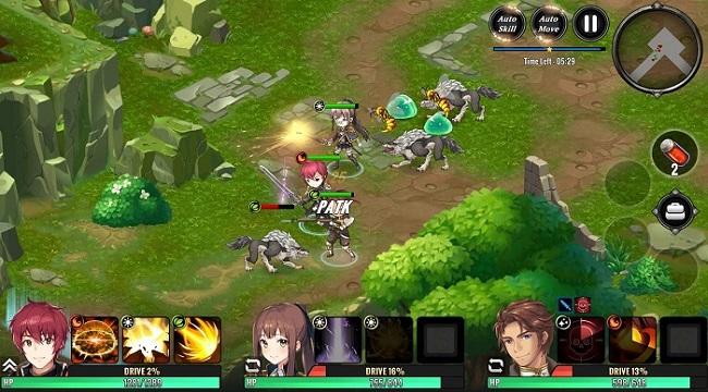 Grand Alliance – Game nhập vai phong cách anime cho tùy biến đội hình đa dạng