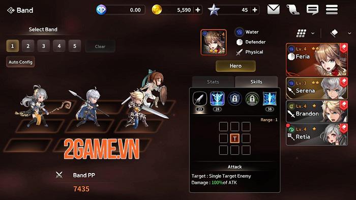 Five Stars - Game đánh theo lượt với dàn nhân vật sexy hết phần người khác 2