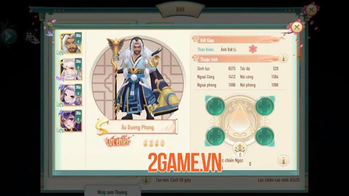 Tân Thần Điêu VNG sở hữu chuỗi tính năng nhập vai đồ sộ, mở ra nhiều hướng phát triển nhân vật 3