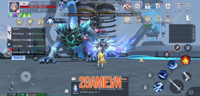 Game fantasy đẹp mắt Kỷ Nguyên Huyền Thoại về Việt Nam 1