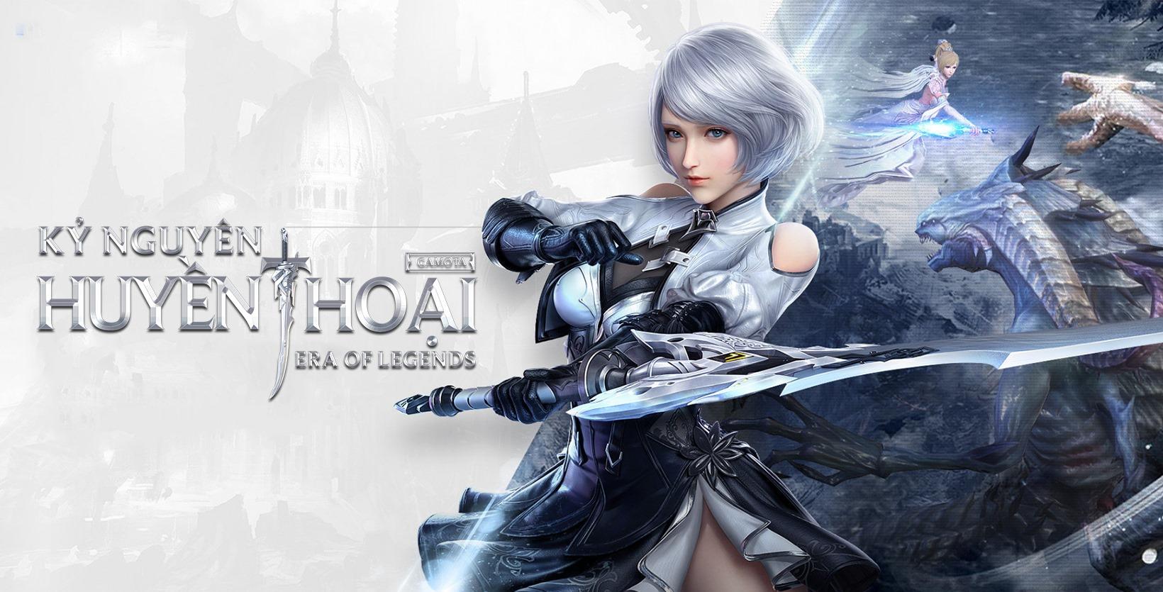 Game fantasy đẹp mắt Kỷ Nguyên Huyền Thoại về Việt Nam