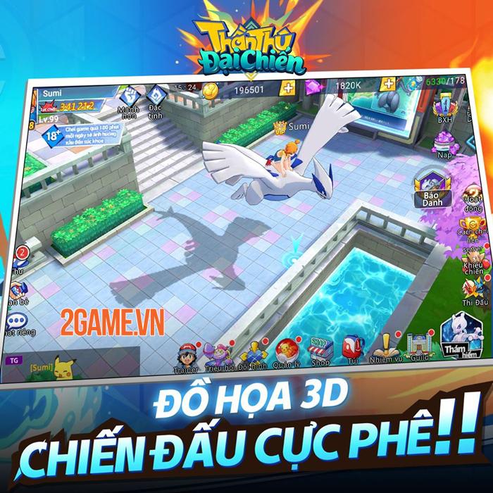 Hơn 70.000 người đã vào đăng ký nhận quà từ Thần Thú 3D Mobile 2