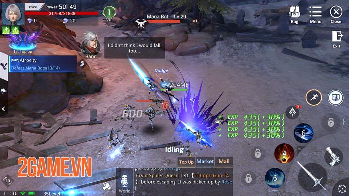 Kỷ Nguyên Huyền Thoại có lối chơi nhập vai điển hình trên nền đồ họa siêu ấn tượng 0