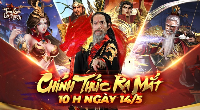 Tặng 500 giftcode game Tam Quốc Liệt Truyện