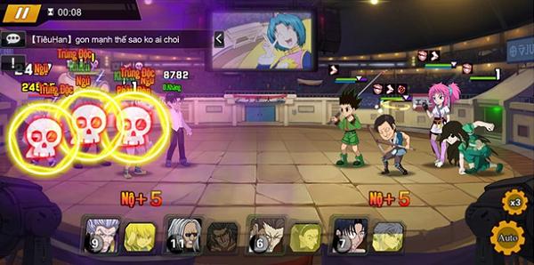 Những nhân vật được bầu chọn là mạnh nhất trong Hunter X Hunter 8