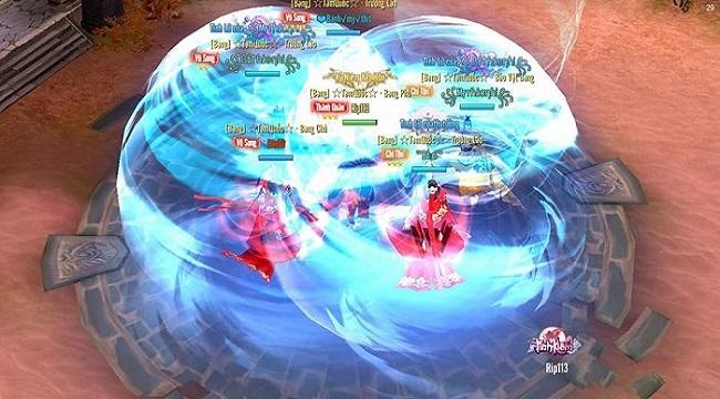 Tình Kiếm 3D khai mở giải đấu PK Bang Hội đình đám bậc nhất trong tháng 5 này