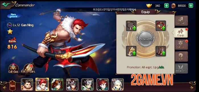 KingdomsM - Game chiến thuật mang đến trải nghiệm những trận chiến vĩ đại 2