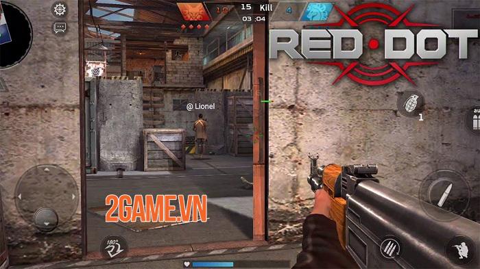 Red Dot: Front Line chất lừ với đồ họa đẹp và các chế độ chơi đa dạng 1