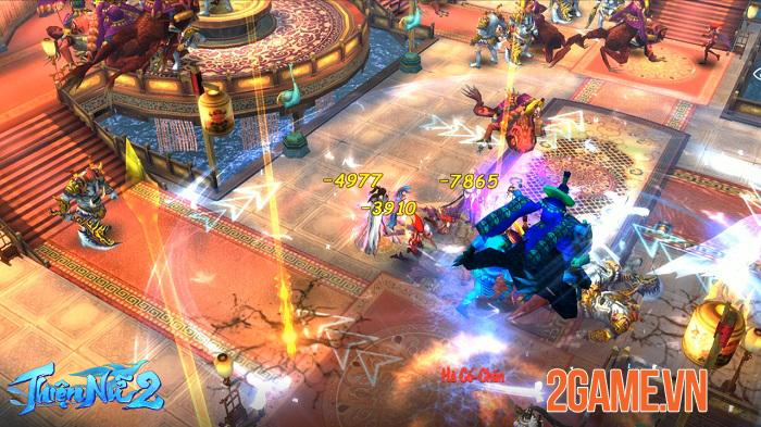 Thiện Nữ 2 kế thừa và phát triển các tính năng đậm màu sắc MMORPG truyền thống 6