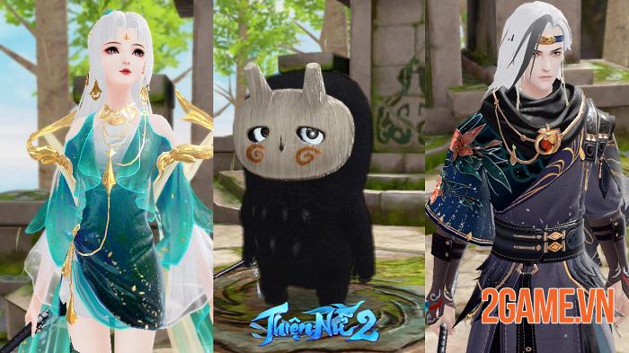 Thiện Nữ 2 kế thừa và phát triển các tính năng đậm màu sắc MMORPG truyền thống 3