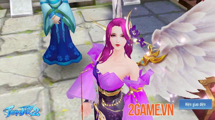 Thiện Nữ 2 kế thừa và phát triển các tính năng đậm màu sắc MMORPG truyền thống 2