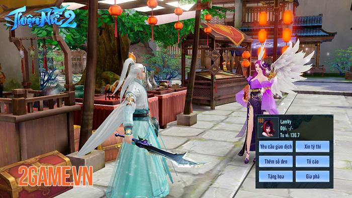 Thiện Nữ 2 kế thừa và phát triển các tính năng đậm màu sắc MMORPG truyền thống 4