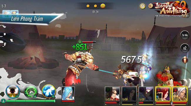 Nhiều người trông ngóng game đấu tướng cân bằng Loạn Thế Anh Hùng 3Q ra mắt 4