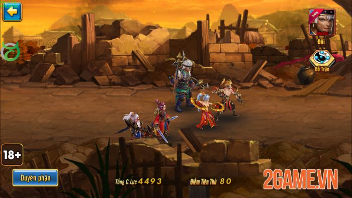 Game đấu tướng không chờ lượt Toàn Dân Tam Quốc mở tải sớm 2