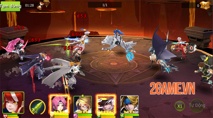 Game đấu tướng Trụ Vương Cứu Thiếp Mobile về Việt Nam 2