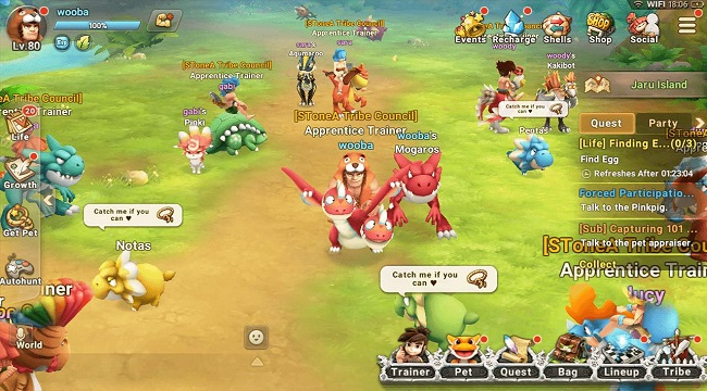 StoneAge World – Thế giới tiền sử thú vị với hệ thống chiến đấu đơn giản