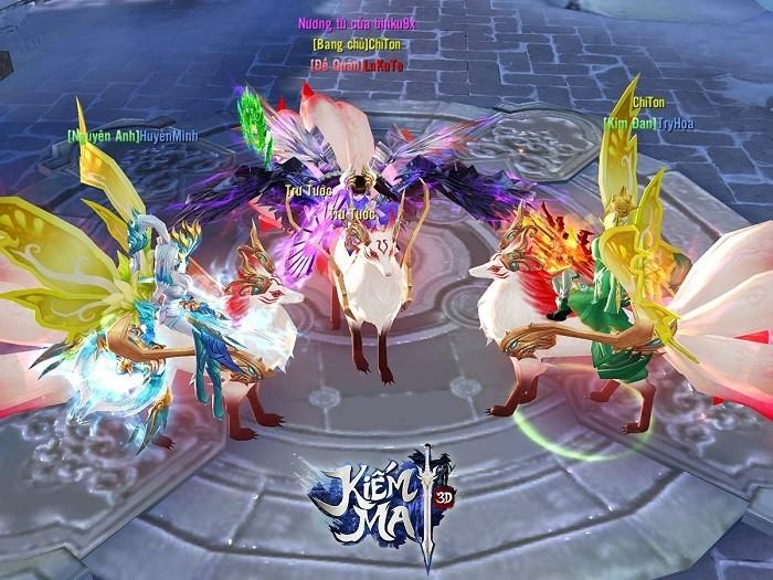 Kiếm Ma 3D luôn chú trọng những tính năng gia tăng lực chiến cho người chơi 0