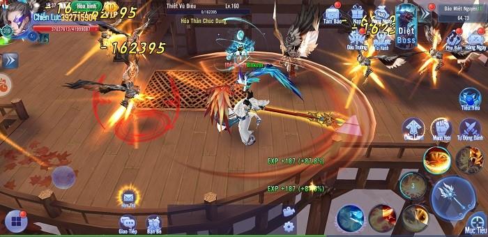Kiếm Ma 3D luôn chú trọng những tính năng gia tăng lực chiến cho người chơi 1