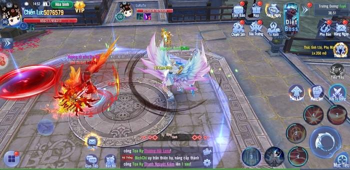 Kiếm Ma 3D luôn chú trọng những tính năng gia tăng lực chiến cho người chơi 2