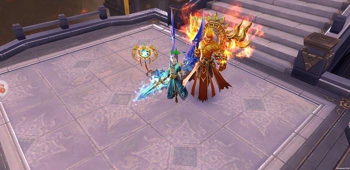 Kiếm Ma 3D luôn chú trọng những tính năng gia tăng lực chiến cho người chơi 4