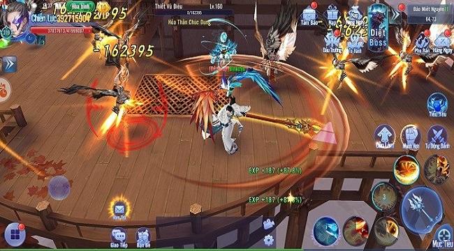 Kiếm Ma 3D luôn chú trọng những tính năng gia tăng lực chiến cho người chơi