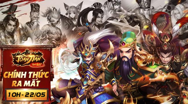 Tặng 777 giftcode game Toàn Dân Tam Quốc