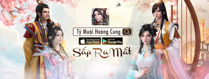 Ca khúc Sóng Gió vang lên trên nền trailer game Tỷ Muội Hoàng Cung 1