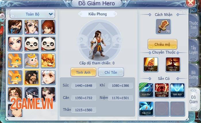Võ Lâm Hào Hiệp - Tựa game kiếm hiệp đánh theo lượt đầy tinh tế 1