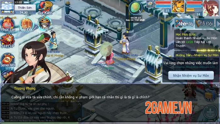 Võ Lâm Hào Hiệp - Tựa game kiếm hiệp đánh theo lượt đầy tinh tế 3