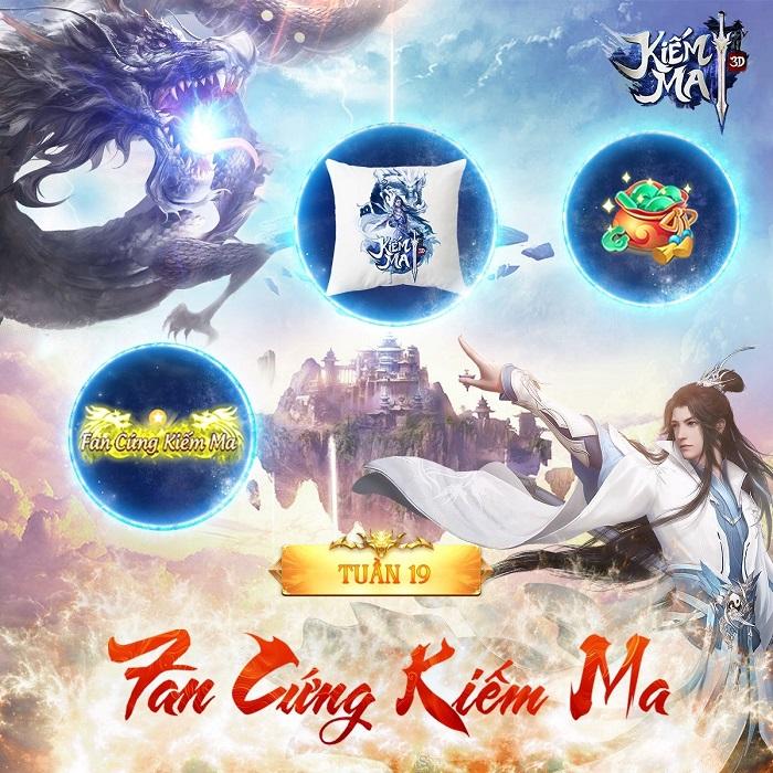 Game thủ Kiếm Ma 3D huyết trận bát phương cùng giải đấu U Vương Chi Chiến 1