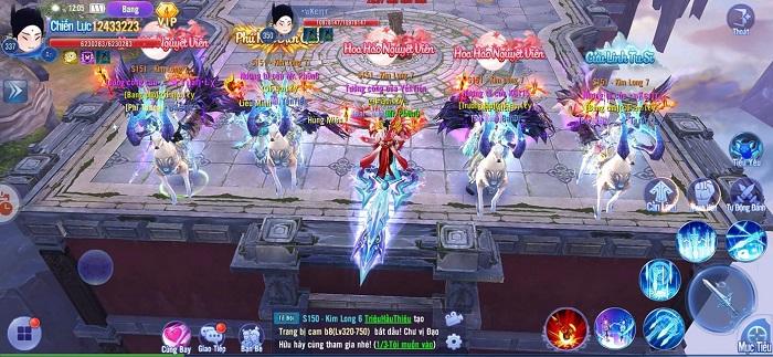 Game thủ Kiếm Ma 3D huyết trận bát phương cùng giải đấu U Vương Chi Chiến 3