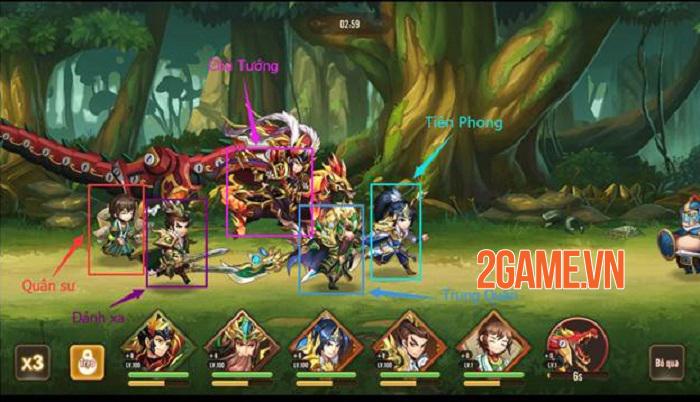 Thiếu Niên Danh Tướng 3Q quả không hổ danh game Tam Quốc thế hệ mới 3