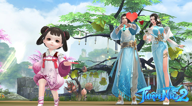 Tháng 6 này game thủ Việt sẽ được sinh con tại Thiện Nữ 2 VNG