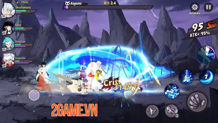 Game nhập vai thẻ tướng Inuyasha Awakening ra mắt bản tiếng Anh 1