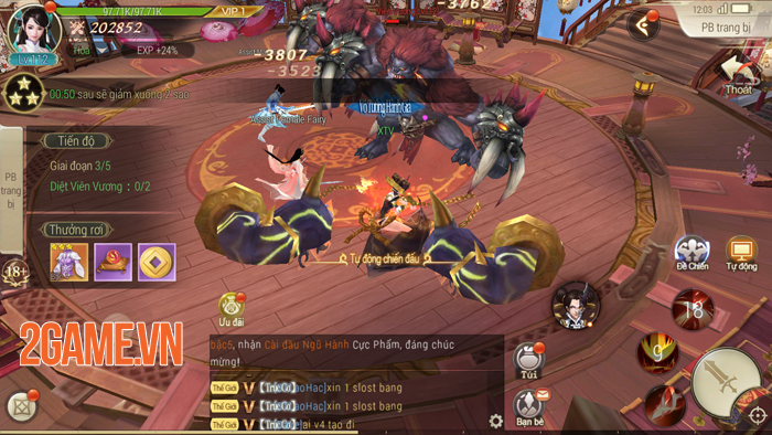 Cảm nhận Jade Sword: MMORPG nhẹ - đẹp - hay! 2