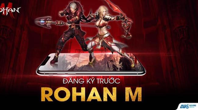 Game nhập vai Hàn Quốc – ROHAN M sắp được VTC Game phát hành