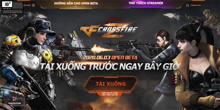 Crossfire Zero được VTC Online phát hành tại Việt Nam 0