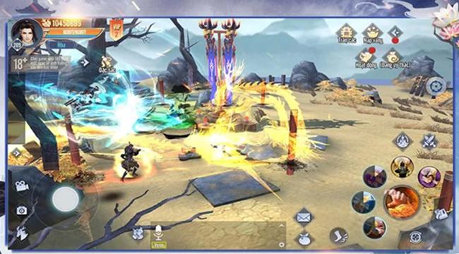 Lục Mạch Thần Kiếm 3D – Game nhập vai kiếm hiệp nguyên tác Kim Dung về Việt Nam