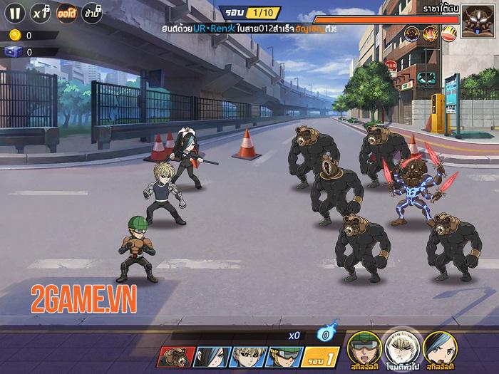 One Punch Man: The Strongest - Game đánh theo lượt sử dụng IP anime siêu nổi tiếng 0