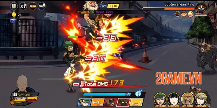 One Punch Man: The Strongest - Game đánh theo lượt sử dụng IP anime siêu nổi tiếng 2