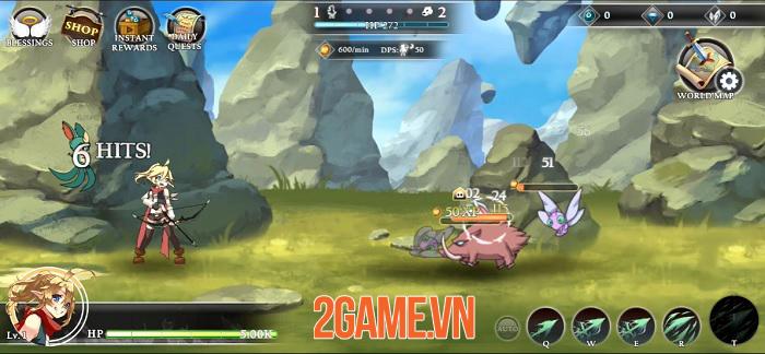 Re:Archer - Game nhập vai giả tưởng với không gian trên bản đồ luôn thay đổi 0