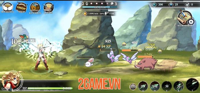 Re:Archer - Game nhập vai giả tưởng với không gian trên bản đồ luôn thay đổi 2