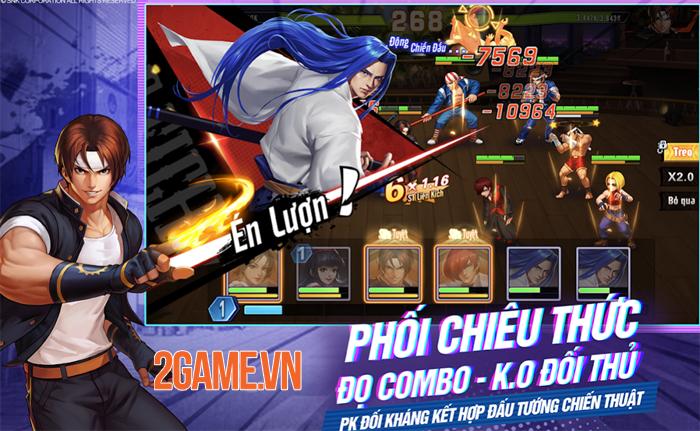 Mê game đối kháng thì hãy vào KOF AllStar VNG - Quyền Vương Chiến 4